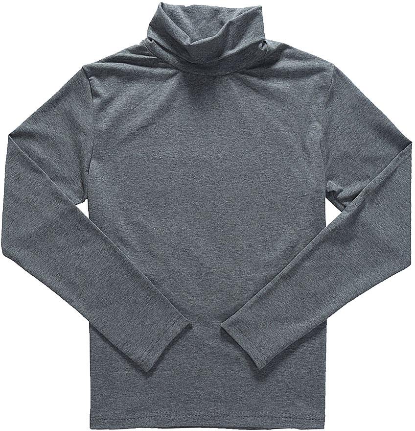 Водолазка для мальчика Luminoso, цвет: темно-серый меланж. 727033. Размер 146727033Водолазка для мальчика Luminoso изготовлена из хлопка с добавлением эластана. Модель имеет длинные рукава и воротник-стойку. Выполнена в классическом дизайне.