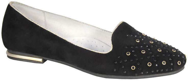 Туфли для девочки San Marko, цвет: черный. 063476. Размер 34063476Эффектные туфли от San Marko придутся по душе юной моднице!Модель выполнена из искусственной кожи. Подкладка и стелька из натуральной кожи позволяют ногам дышать. Стелька дополнена супинатором, который предотвращает развитие плоскостопия.Стильные туфли займут достойное место в гардеробе вашей девочки.