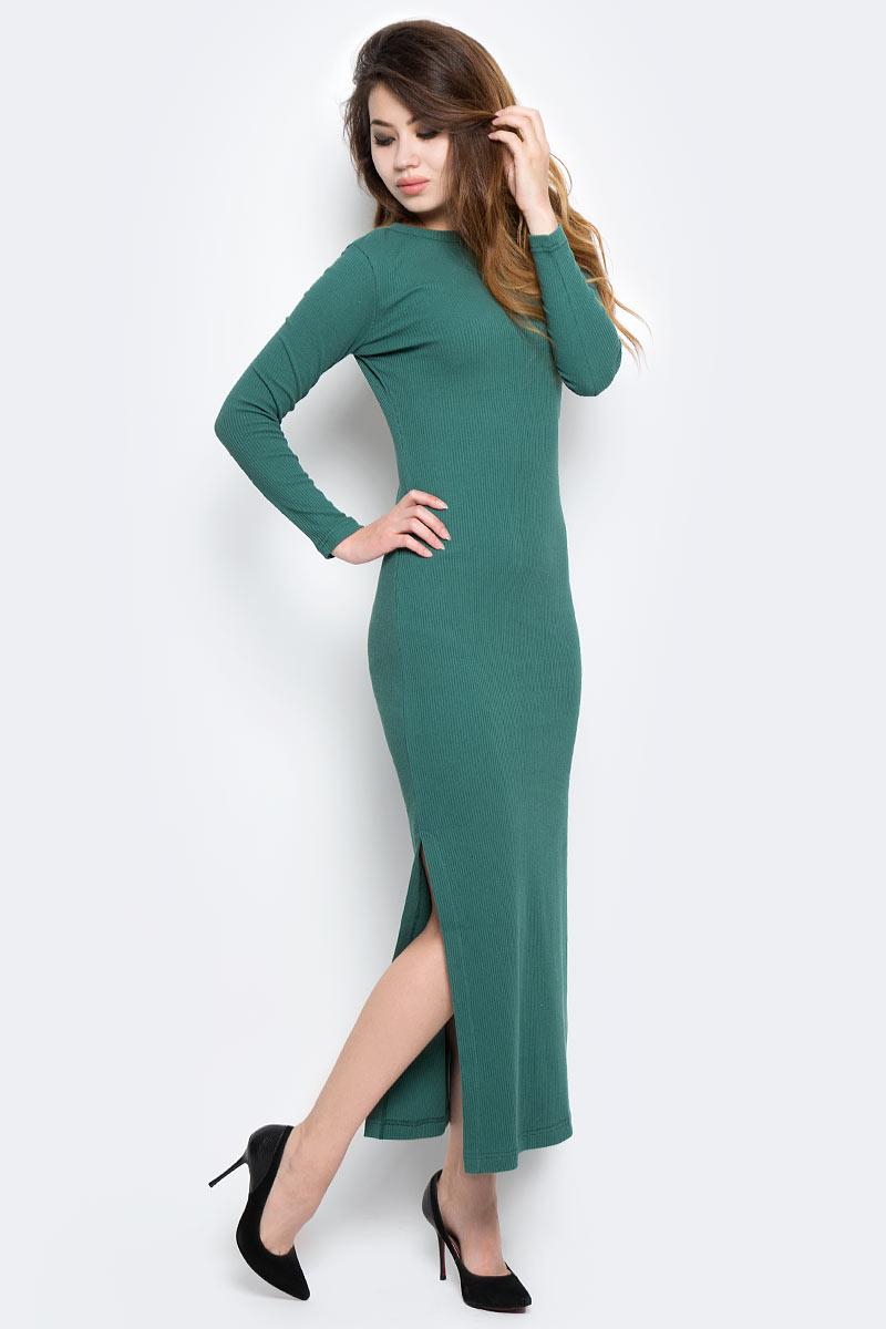 Платье Kawaii Factory, цвет: темно-зеленый. KW177-000066. Размер 42/46KW177-000066