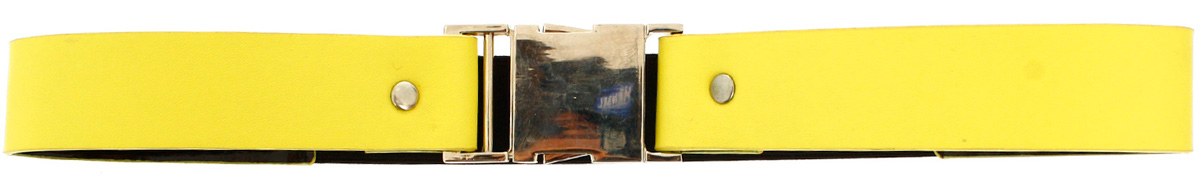Ремень женский oodji, цвет: желтый. 45102130/18615/6729O. Размер 7045102130/18615/6729OОригинальный женский ремень oodji изготовлен из качественной искусственной кожи. Ремень застегивается на металлическую пряжку, сзади дополнен эластичной вставкой.