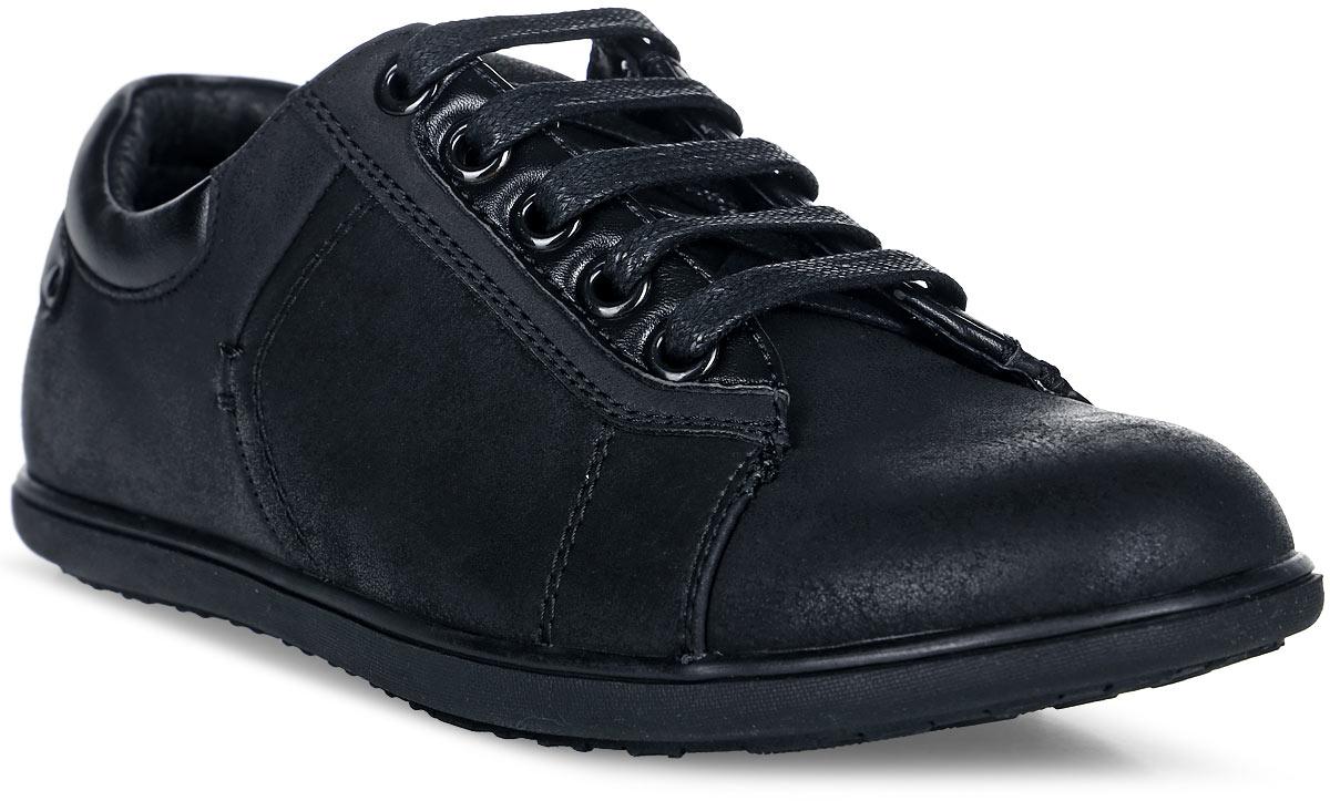 Полуботинки для мальчика Keddo, цвет: черный. 178662/08-01. Размер 33178662/08-01Прелестные полуботинки от Keddo очаруют вашего мальчика с первого взгляда. Модель выполнена из искусственной кожи. Внутренняя поверхность и стелька -из текстиля и натуральной кожи не натирают. Классическая шнуровка надежно зафиксирует обувь на ноге. Рифление на подошве обеспечивает идеальное сцепление с любыми поверхностями. Такие полуботинки станут незаменимыми в гардеробе вашего ребенка.