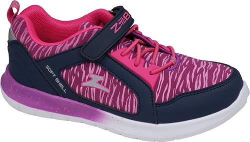 Кроссовки для девочки Зебра, цвет: сиреневый. Размер 3211964-20Стильные кроссовки от Зебра выполнены из текстиля. Шнуровка и хлястик с липучкой надежно зафиксируют изделие на ноге. Ярлычок на заднике предназначен для удобства обувания. Стелька из натуральной кожи способствует правильному формированию скелета и анатомических сводов детской стопы. Подошва дополнена небольшим рифлением.