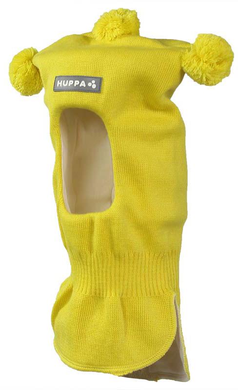 Балаклава детская Huppa Coco, цвет: желтый. 85070000-60002. Размер S (47/49)85070000-60002Вязаная шапка-шлем для детей COCO. Теплая вязанная шапочка-шлем на хлопковой подкладке, прекрасно подойдет для повседневных прогулок в холодное время года.