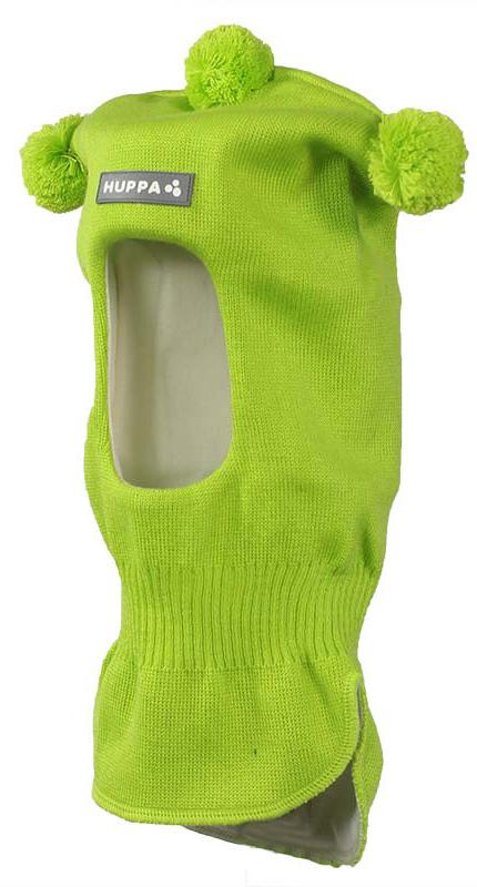 Шапка-шлем детская Huppa Coco, цвет: лайм. 85070000-60047. Размер S (47/49)85070000-60047Теплая шапка-шлем Huppa Coco выполнена из мериносовой шерсти с добавлением акрила, подкладка выполнена из натурального хлопка. Изделие оснащено мембраной для защиты ушей от холода. Модель декорирована тремя небольшими помпонами. Шейная часть изделия связана резинкой. Уважаемые клиенты! Обращаем ваше внимание на тот факт, что размер, доступный для заказа, является обхватом головы.