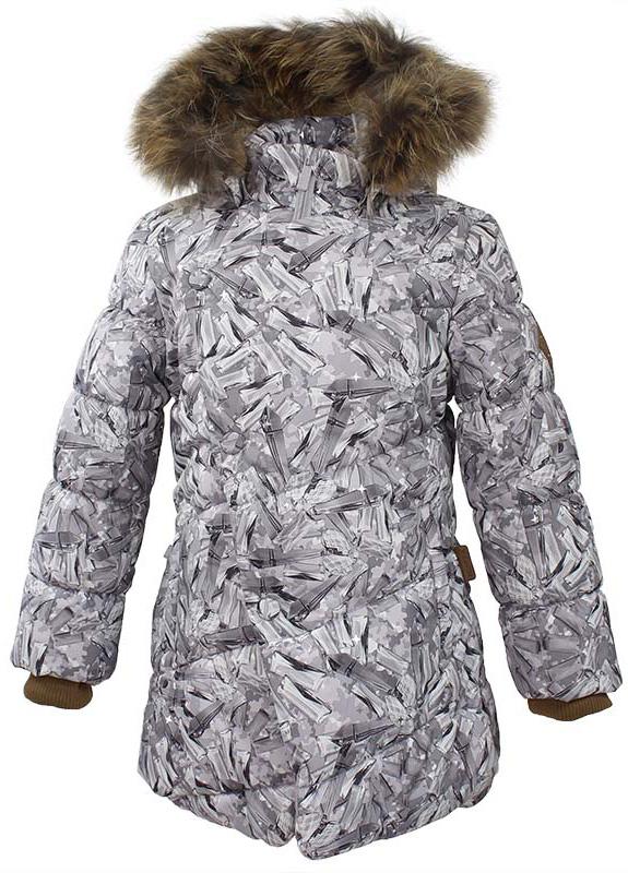 Куртка для девочки Huppa Rosa 1, цвет: белый. 17910130-71420. Размер 14617910130-71420Теплая куртка для девочки Huppa идеально подойдет для ребенка в холодное время года. Куртка изготовлена из 100% полиэстера. Вес утеплителя - 300 г.Куртка с капюшоном застегивается на пластиковую застежку-молнию и кнопки. Капюшон, декорированный мехом, защитит нежные щечки от ветра. Предусмотрены светоотражающие элементы для безопасности ребенка в темное время суток.
