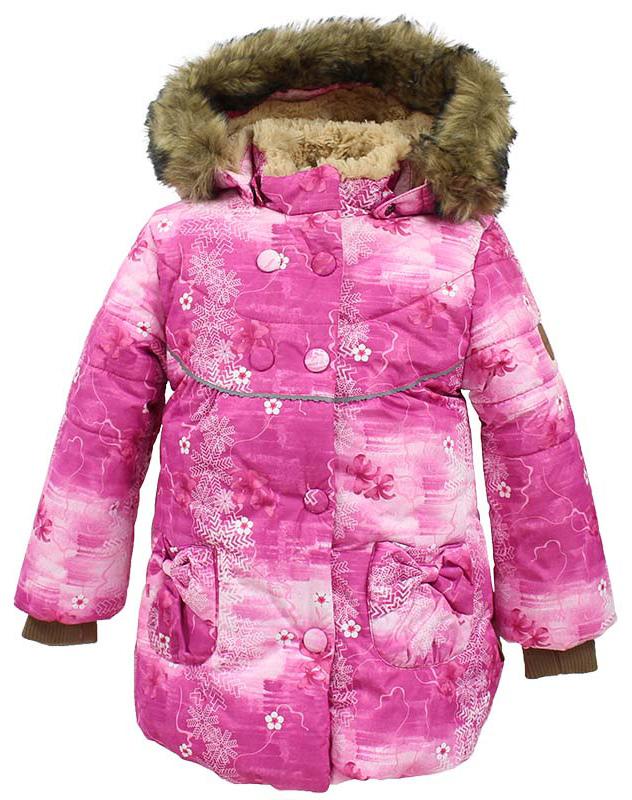 Куртка для девочки Huppa Olivia, цвет: фуксия. 17890030-71363. Размер 10417890030-71363Куртка для девочки Huppa изготовлена из водонепроницаемого полиэстера. Куртка застегивается на застежку-молнию и кнопки. Модель дополнена отстегивающимся капюшоном с мехом. Изделие дополнено светоотражающими элементами.