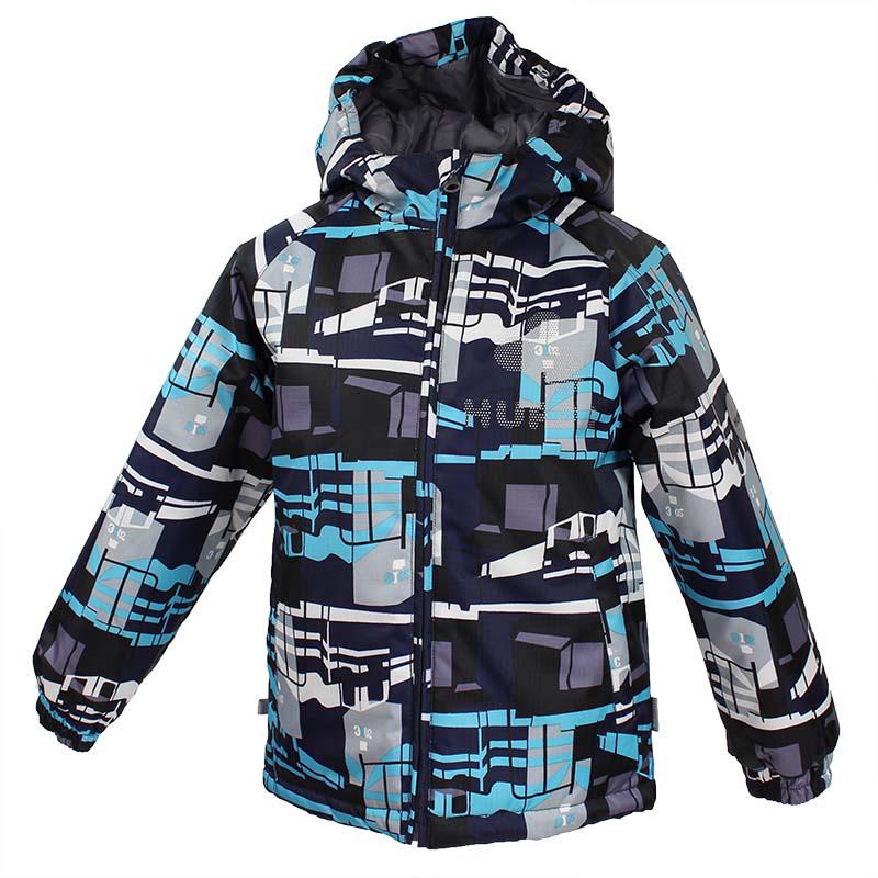 Куртка детская Huppa Classy, цвет: темно-синий. 17710030-886. Размер 13417710030-886Куртка для детей CLASSY. Водо и воздухонепроницаемость 10 000. Утеплитель 300 гр. Манжеты рукавов на резинке. Капюшон с резинкой. Имеются светоотражательные детали.