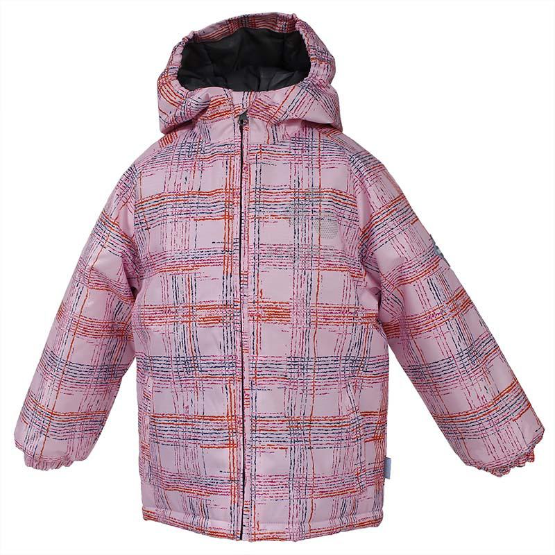 Куртка для девочки Huppa Classy, цвет: светло-розовый. 17710030-303. Размер 11017710030-303Куртка для девочки Huppa изготовлена из водонепроницаемого полиэстера. Куртка с капюшоном застегивается на пластиковую застежку-молнию с защитой подбородка. Края капюшона и рукавов собраны на внутренние резинки. У модели имеются два врезных кармана. Изделие дополнено светоотражающими элементами.