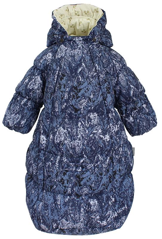 Спальный мешок для новорожденных Huppa Emily, цвет: темно-синий. 32010055-73286. Размер 6232010055-73286Спальный мешок для новорожденных Huppa Emily выполнен из полиэстера. Модель дополнена регулируемым капюшоном. Манжеты рукавов с отворотом на резинке.