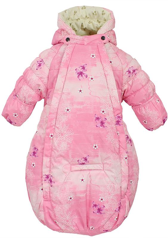 Спальный мешок для новорожденных Huppa Zippy, цвет: розовый. 32130030-71313. Размер 6832130030-71313Комбинезон конверт ZIPPY. Водо и воздухонепроницаемость 5 000. Утеплитель 300 гр. Капюшон с резинкой. Манжеты рукавов на резинке. Манжеты с отворотом.