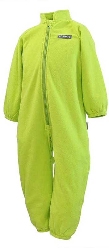 Комбинезон утепленный детский Huppa Roland, цвет: лайм. 3304BASE-00047. Размер 1163304BASE-00047Флисовый комбинесон для малышей ROLAND. Мягкий теплый флисовый комбинезон, спереди длинная молния, мягкие рукава на резнке. Комбинезон прекрасно подойдет в качестве поддевы под одежду, так и для повседневного ношения в домашних условиях.