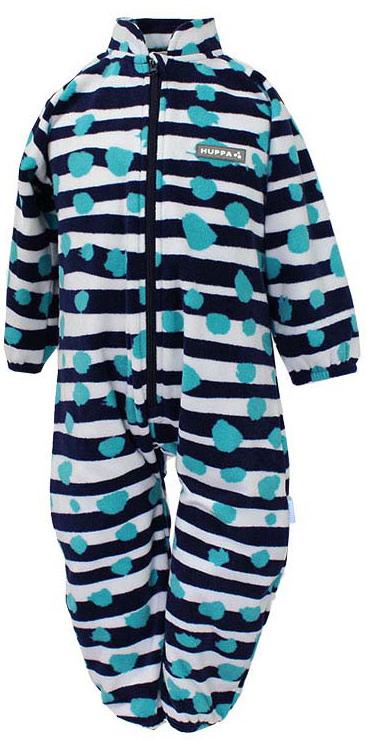 Комбинезон утепленный детский Huppa Roland, цвет: темно-синий. 3304BASE-63386. Размер 1163304BASE-63386Флисовый комбинесон для малышей ROLAND. Мягкий теплый флисовый комбинезон, спереди длинная молния, мягкие рукава на резнке. Комбинезон прекрасно подойдет в качестве поддевы под одежду, так и для повседневного ношения в домашних условиях.
