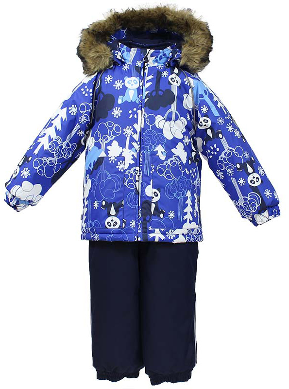Комплект одежды для мальчика Huppa Avery: куртка, полукомбинезон, цвет: синий, темно-синий. 41780030-73235. Размер 92