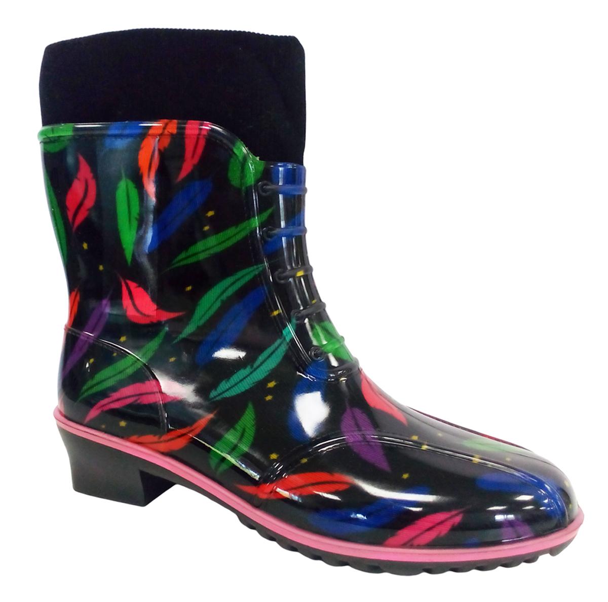 Сапоги резиновые для девочки Дюна, цвет: черный. 662/02 РУВ. Размер 39662/02 РУВПрелестные резиновые сапоги Дюна - идеальная обувь в дождливую погоду для вашего ребенка. Сапоги, выполненные из резины, с верху дополнены - текстильной резинкой. Подкладка и стелька из текстиля обеспечат комфорт. Подошва с рифлением гарантирует отличное сцепление с любой поверхностью. Резиновые сапоги - необходимая вещь в гардеробе каждого ребенка.