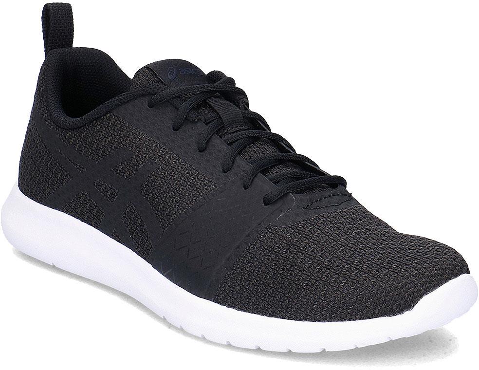 Кроссовки мужские Asics Kanmei, цвет: черный. T7H1N-9090. Размер 12 (45)T7H1N-9090Кроссовки мужские Kanmei от Asics - прекрасный выбор на каждый день. Cкромный стиль и спортивная эффективность - идеальное сочетание для того, кто желает, чтобы его обувь идеально вписывалась почти в любую обстановку. Бесшовный верх и гладкая средняя часть подошвы обеспечивают великолепный союз функциональности и формы. Классическая шнуровка надежно фиксирует обувь на ноге.