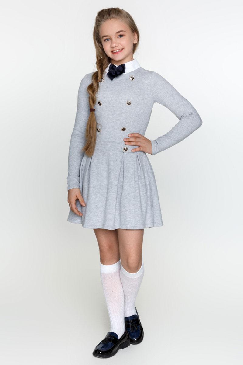 Платье для девочки Acoola Lili, цвет: серый. 20200200018_1900. Размер 164 acoola для девочки muse серый