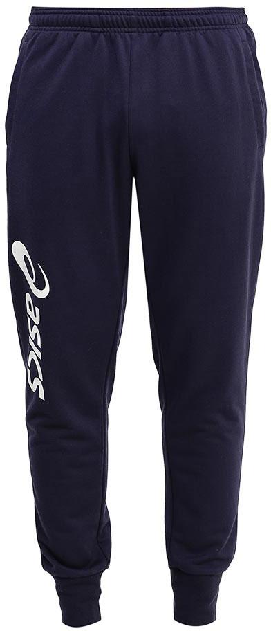 Брюки спортивные мужские Asics Styled Knit Pant, цвет: синий. 145226-0891. Размер XXL (56)145226-0891Мужские спортивные брюки Asics Styled Knit Pant, подарят вам особенный комфорт во время и после нагрузки. Модель изготовлена из хлопка с добавлением полиэстера. Стильные брюки не сковывают движений. Низ брючин обработан эластичными манжетами. Такие брюки послужат отличным дополнением к вашему спортивному гардеробу, в них вы будете чувствовать себя комфортно и уютно.