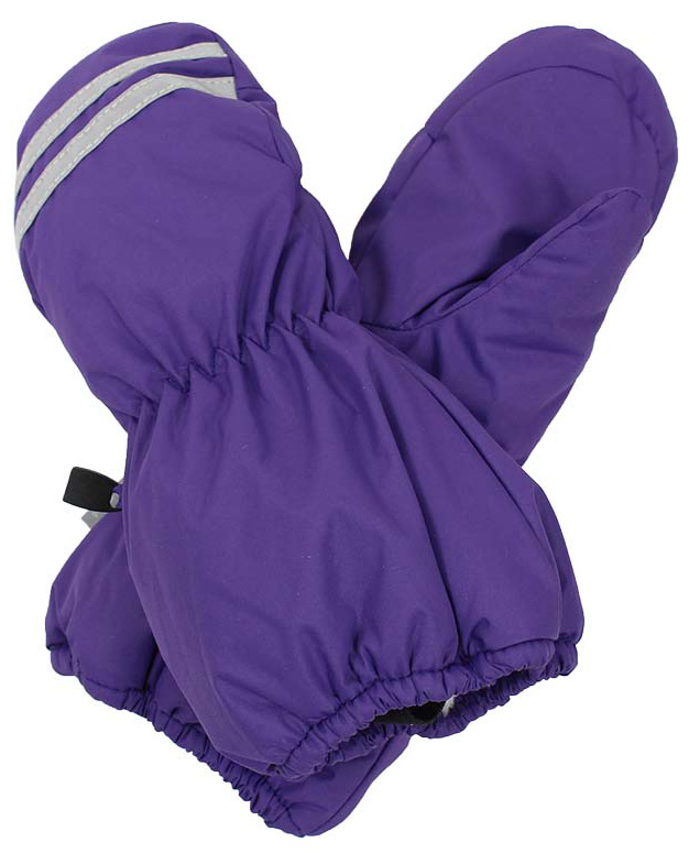 Варежки детские Huppa Roy, цвет: фиолетовый. 8110BASE-70053. Размер 58110BASE-70053Детские варежки Huppa Roy, изготовленные из высококачественного полиэстера, станут идеальным вариантом для холодной зимней погоды. Первоклассный мембранный материал с теплой подкладкой Coral-fleece, а также наполнитель из полиэстера надежно сохранят тепло и не дадут ручкам вашего малыша замерзнуть.Варежки дополнены удлиненными манжетами, которые помогут предотвратить попадание снега и влаги. На запястьях варежки собраны на эластичные резинки, что обеспечивает комфортную и надежную посадку. Варежки дополнены длинной эластичной резинкой.