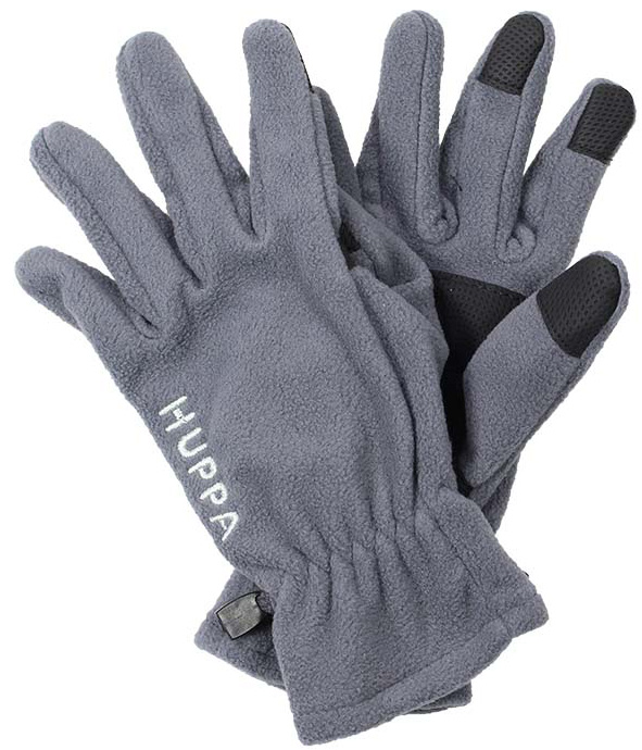 Перчатки детские Huppa Aamu, цвет: серый. 8259BASE-00048. Размер 38259BASE-00048Детские перчатки Huppa Aamu выполнены из мягкого флиса. Манжеты присборены на резинки. Такие перчатки отлично подойдут для повседневных прогулок в холодную погоду.