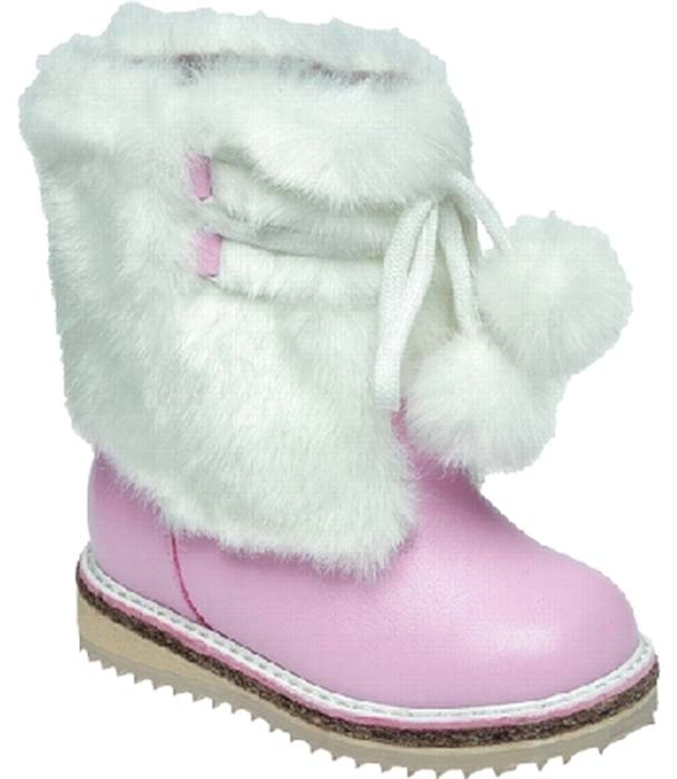 Сапоги для девочки Зебра, цвет: розовый. 5863-9. Размер 235863-9Теплые сапоги-унты Зебра изготовлены из натуральной кожи с отделкой из натурального меха. Модель оформлена декоративным шнурком. Внутренняя поверхность и стелька выполнены из натурального меха, который обеспечит тепло и комфорт при носке. Подошва изготовлена из гибкого и прочного ТЭП-материала, а ее протектор гарантирует отличное сцепление с любой поверхностью.
