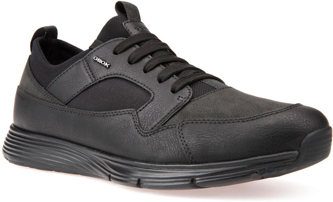 Кроссовки мужские Geox, цвет: черный. U742DA0MEEKC9999. Размер 44U742DA0MEEKC9999Кроссовки мужские от Geox выполнены из искусственной кожи и дополнены прострочкой. Стелька из текстиля гарантирует комфорт при движении. Классическая шнуровка надежно зафиксирует модель на ноге. Подошва оснащена рифлением для лучшей сцепки с поверхностями.