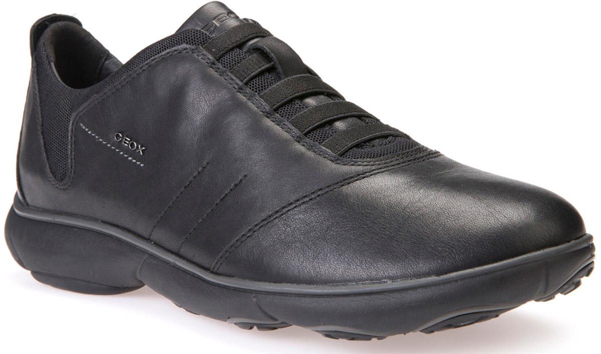 Кроссовки мужские Geox, цвет: черный. U52D7B00046C9999. Размер 44U52D7B00046C9999Кроссовки мужские от Geox выполнены из натуральной кожи и дополнены на язычке фирменной нашивкой. Стелька из натуральной кожи гарантирует комфорт при движении. Эластичная шнуровка надежно зафиксирует модель на ноге. Подошва оснащена рифлением для лучшей сцепки с поверхностями.