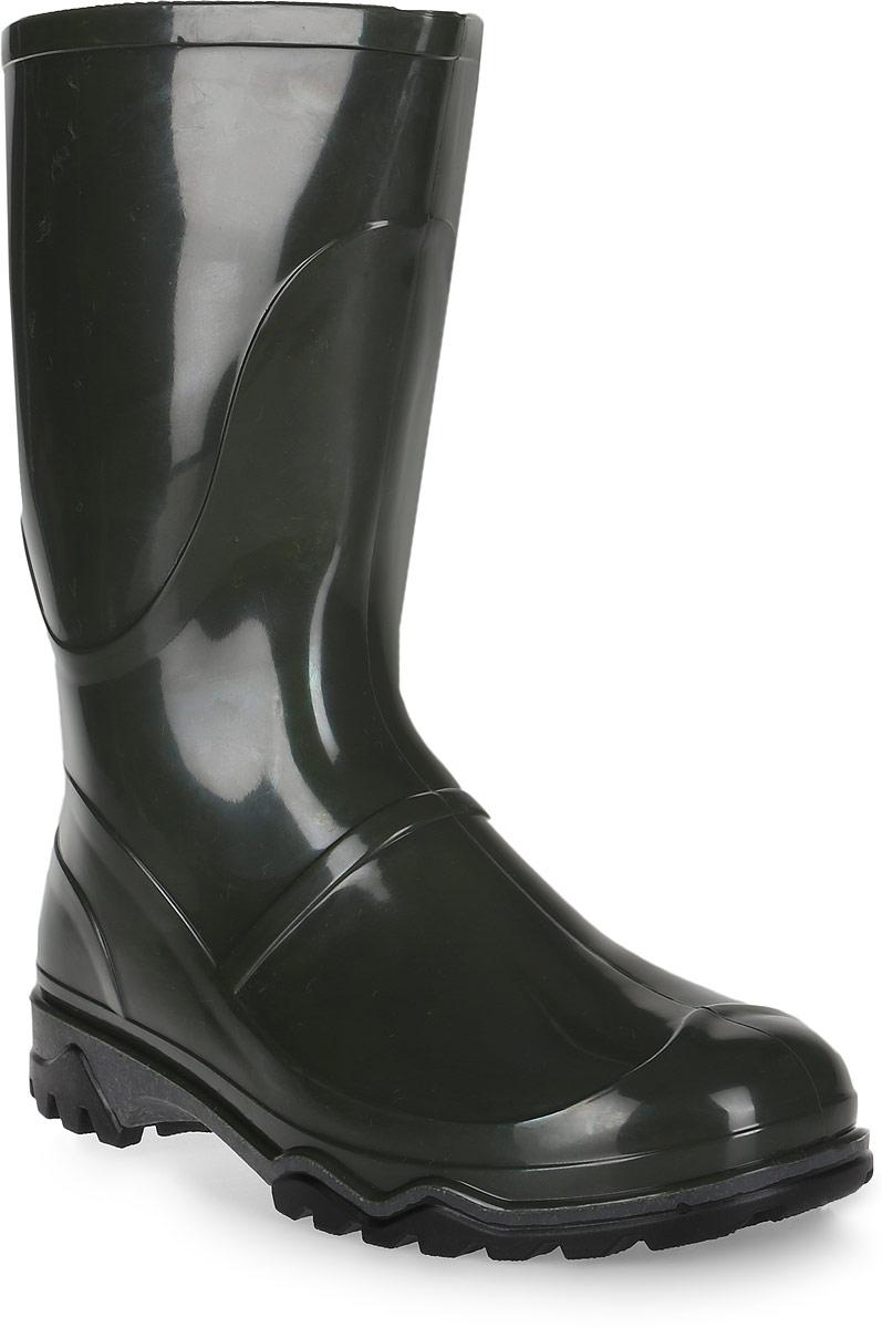 Сапоги резиновые для мальчика Дюна, цвет: оливковый. 340. Размер 36340Резиновые сапоги Дюна - идеальная обувь в дождливую погоду для вашего ребенка. Подкладка и стелька из текстиля обеспечат комфорт. Подошва с рифлением гарантирует отличное сцепление с любой поверхностью. Резиновые сапоги - необходимая вещь в гардеробе каждого ребенка.