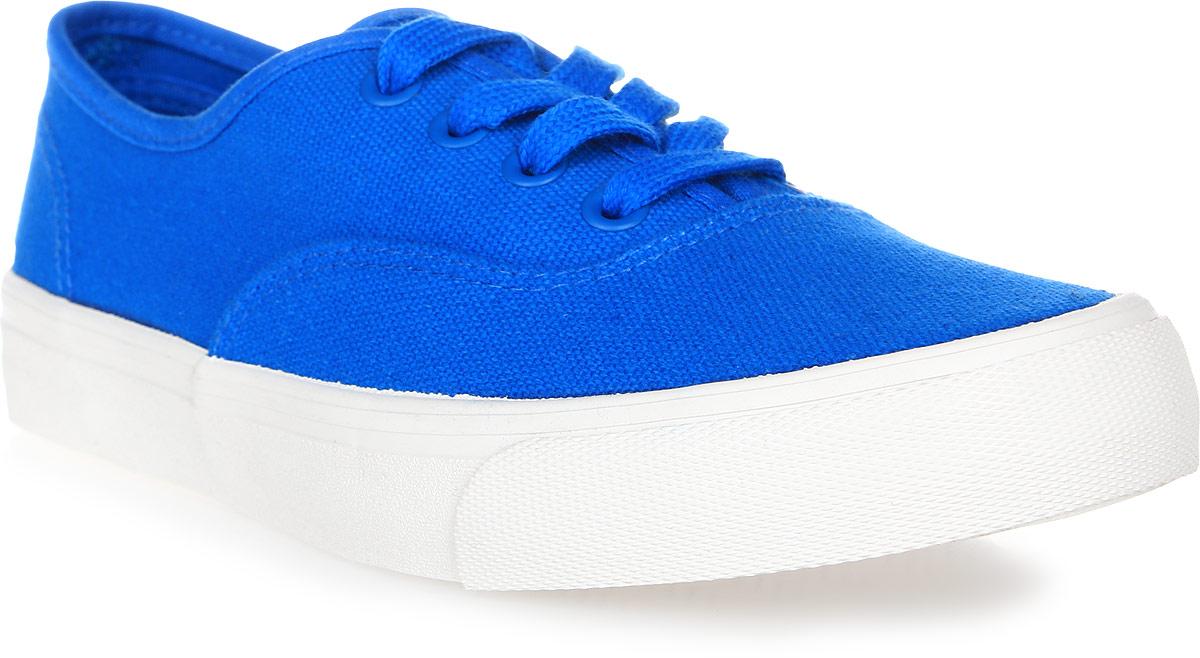Кеды женские Affex, цвет: синий. 22-RSP-ELB-W. Размер 3722-RSP-ELB-WСтильные женские кеды Affex созданы для тех, кто предпочитает оригинальный дизайн и непревзойденное качество. Модель выполнена из прочного текстиля и оформлена прострочкой. Классическая шнуровка надежно фиксирует обувь на ноге. Стелька и подкладка из мягкого текстиля комфортны при ходьбе. Подошва исполнена из износостойкой резины. Рифление на подошве обеспечивает идеальное сцепление с любыми поверхностями. Эффектные кеды помогут вам создать яркий, динамичный образ.