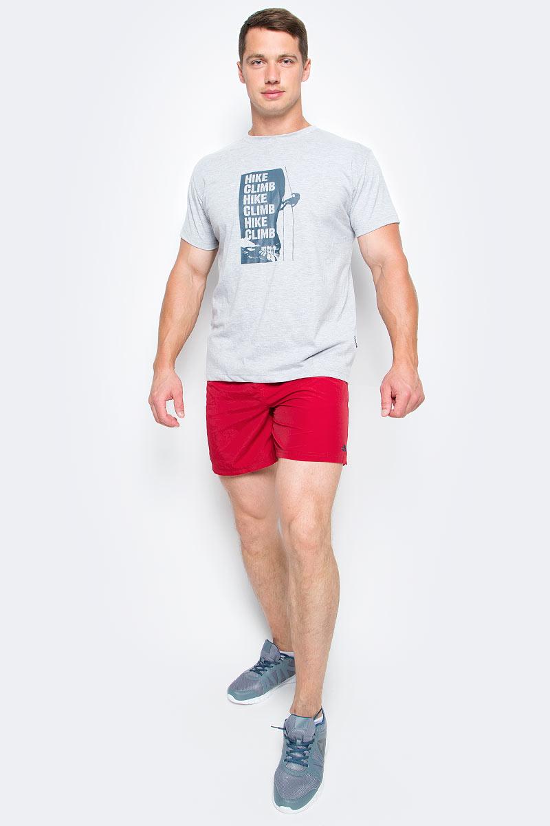 Шорты мужские Trespass Baki, цвет: красный. MABTSHM10003. Размер L (52)MABTSHM10003Мужские шорты Trespass Baki выполнены из полиамида, подходят для фитнеса и бега. Широкий пояс дополнен эластичной резинкой. Снизу изделие оформлено логотипом бренда.