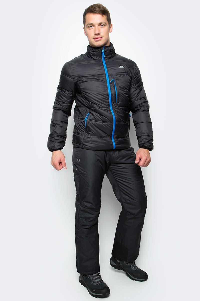 Куртка мужская Trespass Bismarck, цвет: черный. MAJKCAL20001. Размер S (48)MAJKCAL20001Великолепная теплая легкая куртка Trespass Bismarck выполнена из 100% полиэстера. Утеплитель ColdHeat 200 г/м2 (синтетический, микроволоконный с функцией быстрого отвода влаги и высоким уровнем теплозащиты и износостойкости). Прекрасно подойдет как для города, так и для отдыха на природе.