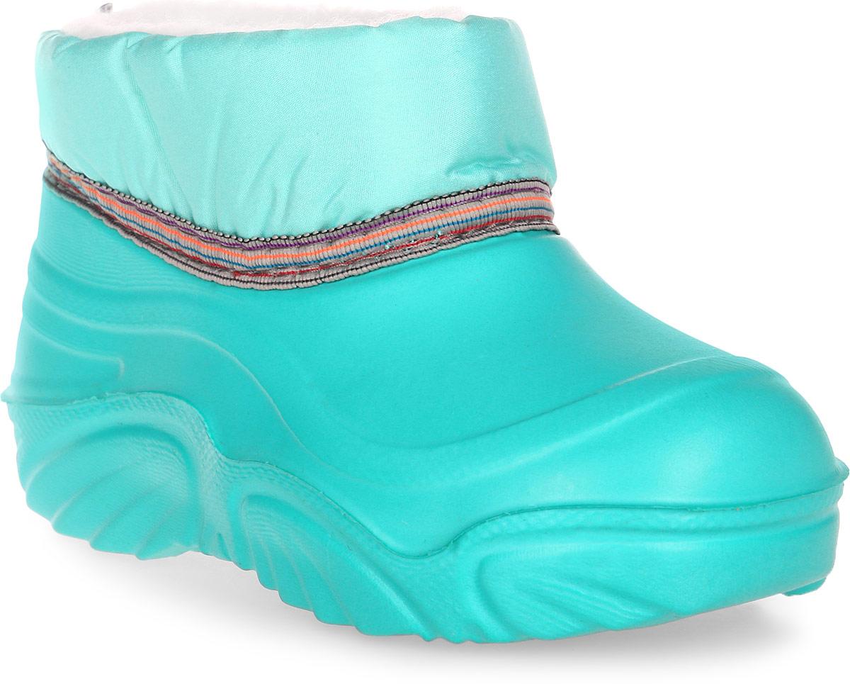 Сапоги резиновые для девочки Дюна, цвет: бирюзовый. 530 Т. Размер 32/33530 ТРезиновые сапоги Дюна - идеальная обувь в холодную дождливую погоду для вашего ребенка. Сапоги выполнены из качественной резины и текстиля. Подкладка и стелька из текстиля обеспечат комфорт. Подошва дополнена рифлением.