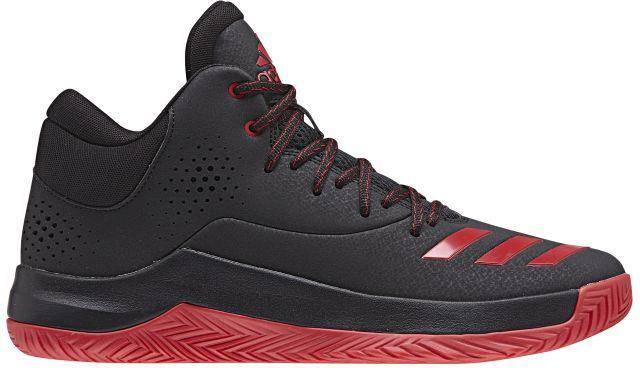 Кроссовки для баскетбола мужские Adidas Court Fury 2017, цвет: черный, красный. BY4189. Размер 10,5 (44)BY4189Правильные кроссовки помогут тебе показать все, на что ты способен, где бы ты ни играл. Кроссовки Court Fury 2017 от Adidas - баскетбольная модель с верхом из синтетических материалов дополнена вставкой ADIPRENE+ для оптимальной амортизации. Износостойкая подошва ADIWEAR обладает повышенной прочностью и выдерживает ежедневные тренировки.Внутренняя отделка выполнена из текстиля для наибольшего комфорта. Резиновая подошва с рельефным протектором обеспечивает идеальное сцепление с поверхностью.