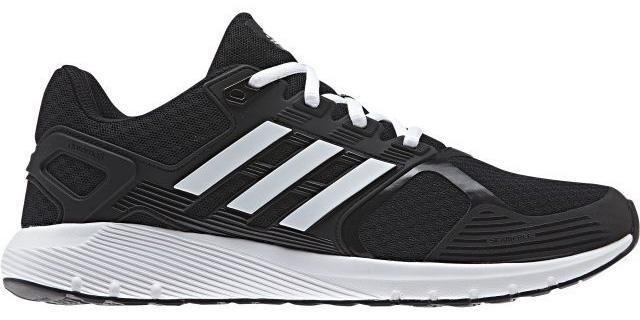Кроссовки для бега муж Adidas Duramo 8 M, цвет: черный, белый. BA8078. Размер 8,5 (41)BA8078Когда на каждое приземление и толчок подошва отзывается приятной мягкостью и пружинящим эффектом, тебе хочется, чтобы пробежка не заканчивалась. Эти беговые кроссовки с промежуточной подошвой cloudfoam обеспечивают именно такие ощущения. Верх из крупной сетки хорошо вентилирует стопу, а каркас из термополиуретана в средней части стопы предоставляет поддержку в ключевых зонах.Тип поддержки стопы: нейтральныйВерх из крупной сетки для максимальной вентиляцииБесшовная конструкцияПоддерживающая вставка из термополиуретана в средней части стопыПромежуточная подошва cloudfoam для поглощения ударных нагрузок и комфортной посадки без разнашивания; удобная и функциональная стелька OrthoLite®Исключительно износостойкая подошва ADIWEAR™Вес: 289 г (размер 41)Перепад высоты на промежуточной подошве: 10 мм (пятка: 22 мм / носок: 12 мм)