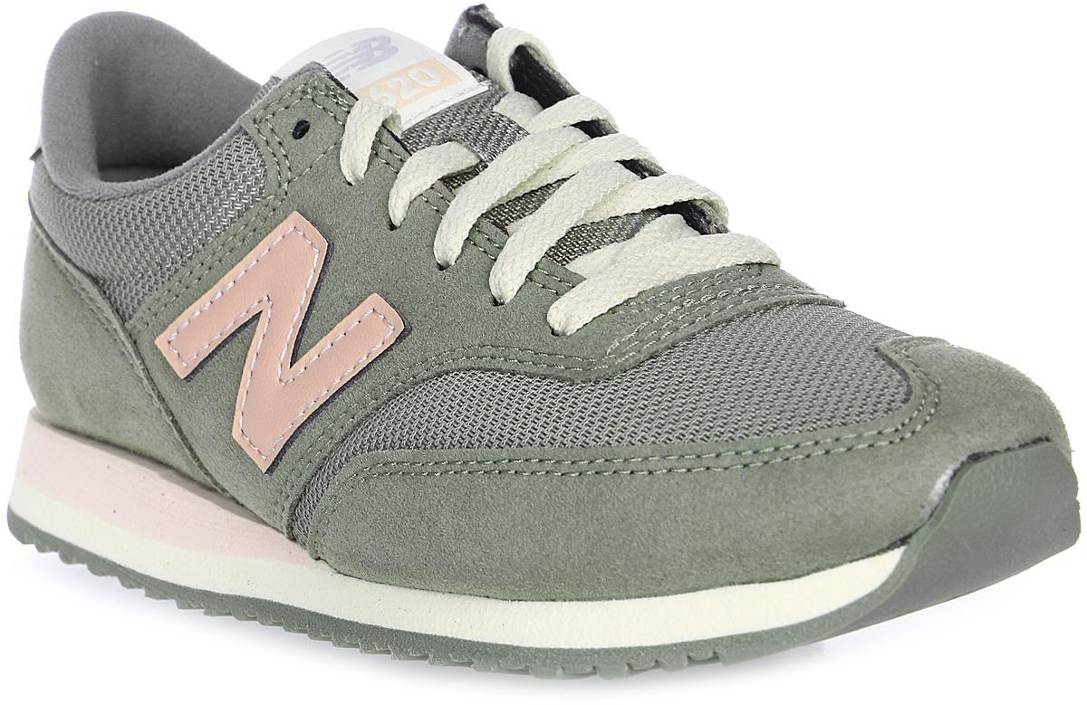 Кроссовки женские New Balance 620, цвет: хаки. CW620NFC/B. Размер 8,5 (40)CW620NFC/BСтильные женские кроссовки от New Balance 620 станут отличным выбором для людей, которые всегда стремятся быть в тренде. Верх модели выполнен из искусственной замши со вставками из текстиля. По бокам обувь оформлена декоративными элементами в виде фирменного логотипа бренда, на язычке - фирменной нашивкой. Классическая шнуровка надежно зафиксирует изделие на ноге. Подкладка и стелька, изготовленные из текстиля, гарантируют уют и предотвращают натирание. Удобные кроссовки займут достойное место среди коллекции вашей обуви.