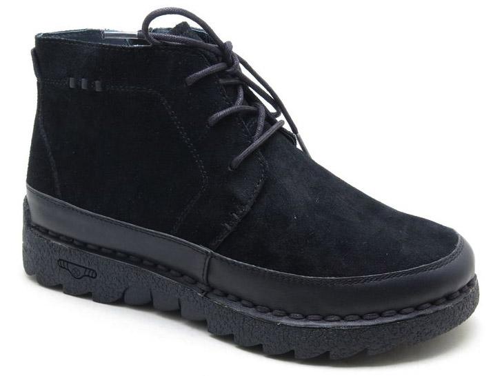 Ботинки женские Spur, цвет: черный. SM4091_02_41_BLACK. Размер 39SM4091_02_41_BLACKСтильные ботинки от Spur не оставят вас равнодушной. Модель выполнена из натуральной кожи. Внутренняя поверхность и стелька, изготовленные из шерсти, сохраняют тепло и создают комфорт. Классическая шнуровка надежно зафиксирует обувь на ноге. Подошва с рифлением гарантируют отличное сцепление с любой поверхностью. Модные и удобные ботинки - незаменимая вещь в женском гардеробе.