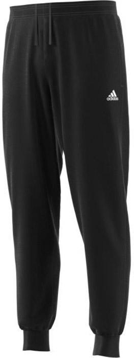 Брюки спортивные мужские Adidas Esslind Stnfrd2, цвет: черный. BP5431. Размер L (52/54)BP5431Мужские спортивные брюки Adidas, выполненные из полиэстера с флисовой подкладкой, великолепно подойдут для отдыха и занятий спортом. Модель дополнена широкими эластичными резинками на поясе и по низу брючин. Объем талии регулируется с внешней стороны при помощи шнурка-кулиски. Спереди имеются два прорезных кармана.