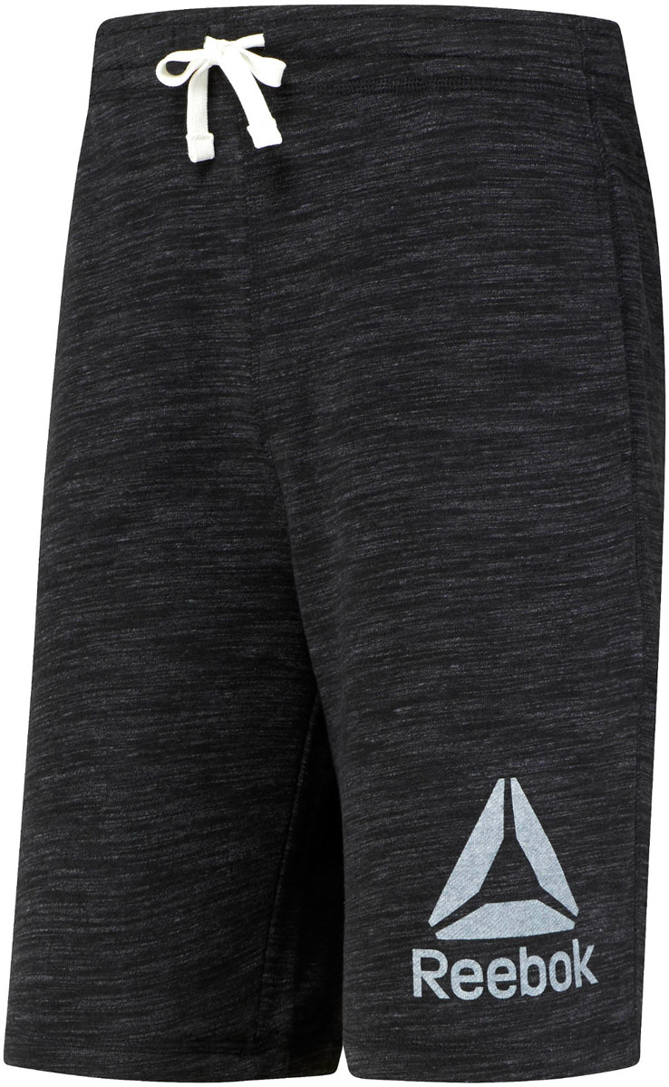 Шорты для бега мужские Reebok El Prime Group Shor, цвет: черный. BP9171. Размер XL (56/58)BP9171Спортивные шорты Reebok Retro выполнены из высококачественного материала. Модель дополнена внутренними карманами и поясом на шнурке, что делает эти шорты особенно функциональными. Классический крой - шорты не слишком тесные и не слишком свободные. Отлично подходят для тренировок и повседневной носки. Модель оформлена логотипом бренда.