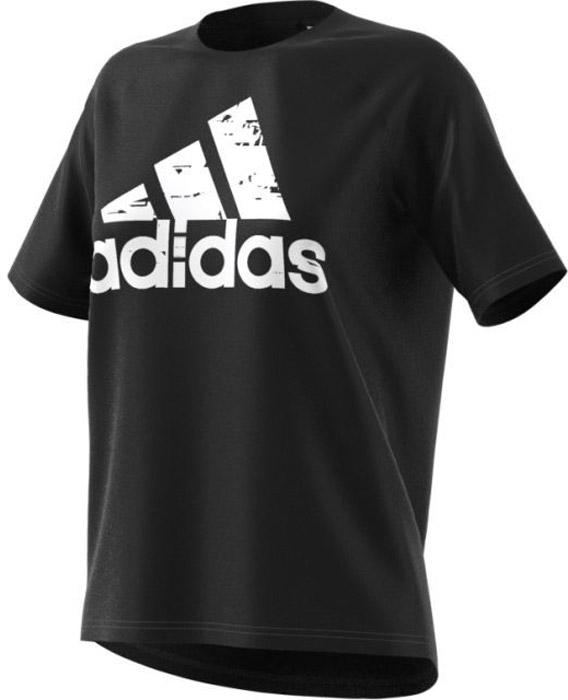 Футболка женская Adidas Sp Id Tee, цвет: черный, белый. BQ9437. Размер S (42/44)BQ9437Комфортная женская футболка от Adidas с короткими рукавами и круглым вырезом горловины выполнена из высококачественного материала. Модель дополнена удлиненной спинкой для дополнительного комфорта в течение всего дня и оформлена спереди логотипом бренда.