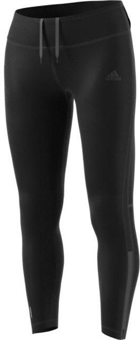 Тайтсы для бега женские Adidas Rs Clima Warm Tgt, цвет: черный. BR0831. Размер XL (52/54)BR0831Женские тайтсы для бега Adidas изготовлены из полиэстера с добавлением эластана. Модель дополнена широкой эластичной резинкой на талии. Комфортные плоские швы исключают риск натирания даже во время интенсивных занятий спортом. Модель дополнена светоотражающими полосками.