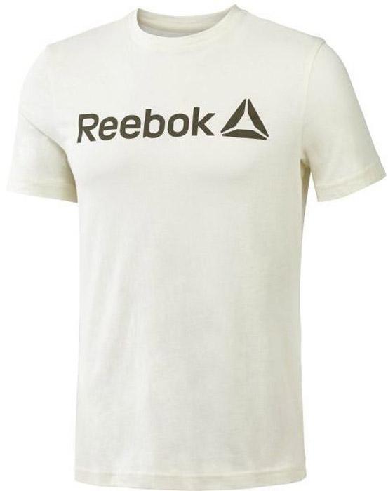 Футболка для фитнеса мужская Reebok Delta Read Tee- Lat, цвет: белый. BR5580. Размер L (52/54)BR5580Мужская футболка Reebok с круглым вырезом и короткими рукавами, выполнена из натурального хлопка. Облегающий крой футболки повторяет каждое движение. Модель дополнена спереди надписью Reebok.