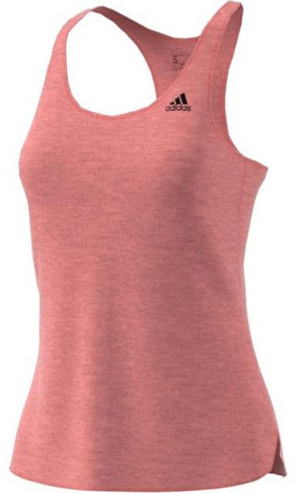 Майка для фитнеса женская Adidas Prime Tank, цвет: розовый. CD1068. Размер XS (40/42)CD1068Удобная женская майка Adidas выполнена из полиэстера с добавлением эластана. Ткань с технологией climalite® быстро и эффективно отводит влагу с поверхности кожи, поддерживая комфортный микроклимат. Модель с глубоким круглым вырезом и перекрестными лямками, подарит вам комфорт во времяэнергичных тренировок, где требуется максимальная свобода и интенсивность движений.
