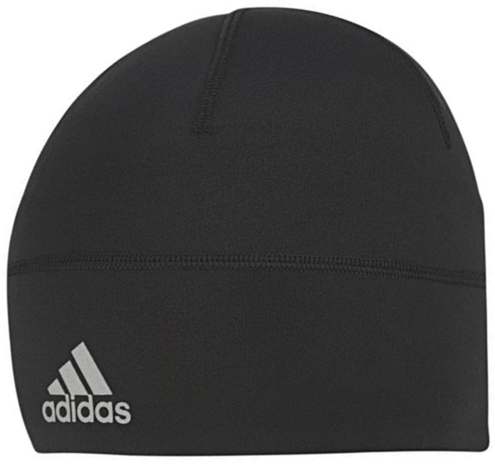 Шапка Adidas Clmlt B Fitted, цвет: черный. BR0797. Размер 56/57BR0797Шапка Adidas выполнена из полиэстера с добавлением эластана. Шапка выполнена вязкой мелкими петлями. Легкая шапка, которая эффективно отводит излишки влаги от кожи даже во время самых интенсивных тренировок. Эластичный материал обеспечивает плотно облегающую посадку. Модель можно носить как отдельно, так и с другими головными уборами. Изделие дополнено светоотражающими элементами.