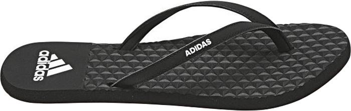 Сланцы женские Adidas Eezay Soft W, цвет: черный. BB0509. Размер 8 (40,5)BB0509Сланцыженские Eezay Soft W с удобными ремешками от Adidas Performance. Модель с мягкой непромокаемой стелькой Cloudfoam и цепкой резиновой подошвой, обеспечивающей отличное сцепление с мокрыми поверхностями. Литой верх исполнен из мягкого ЭВА-материала. Мягкая быстросохнущая стелька Cloudfoam. Подошва из ЭВА для мягкой амортизации.