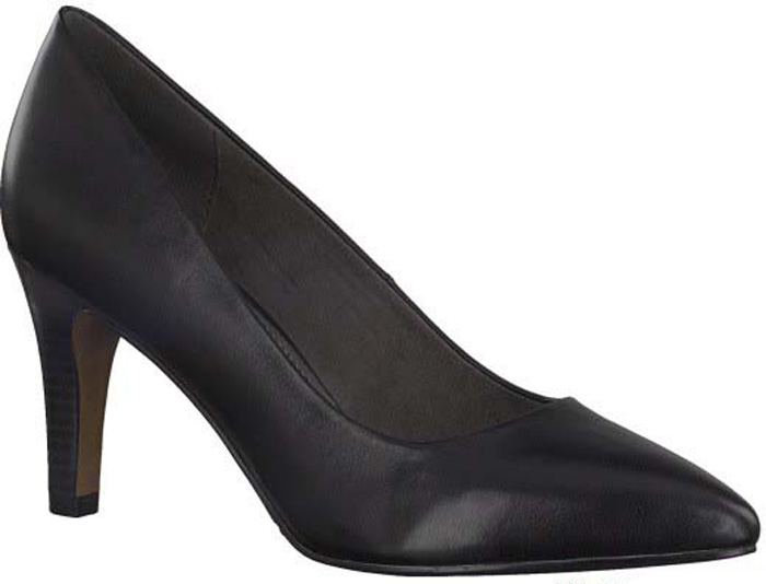Туфли женские S.Oliver, цвет: черный. 5-5-22432-29-001/220. Размер 375-5-22432-29-001/220Элегантные туфли от S.Oliver выполнены из натуральной кожи. Внутренний материал изготовлен из текстиля и искусственной кожи, подошва - из прочного термопластичного материала, стелька кожаная. Модель имеет острый мысок и невысокий устойчивый каблук.