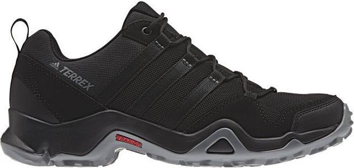 Кроссовки трекинговые муж Adidas Terrex Ax2r, цвет: черный. BA8041. Размер 13,5 (48)BA8041Мужские универсальные кроссовки для активного отдыха. Модель изготовлена с использованием меньшего количества материалов для большей легкости. Верх из дышащей ткани быстро сохнет. Мягкая промежуточная подошва из ЭВА для оптимальной амортизации. Подошва TRAXION™ для отличного сцепления с каменистой поверхностью.Легкий верх из функциональной сетки и текстиля для дополнительной прочностиЛитая стелька для более удобной посадкиЛегкая упругая промежуточная подошва из ЭВА сохраняет свои свойства в течение длительного времениУдобная текстильная подкладкаПодошва TRAXION™ для оптимального сцепленияРезиновая подошва с глубоким протектором обеспечивает отличное сцеплениеВес: 340 г (размер 41)