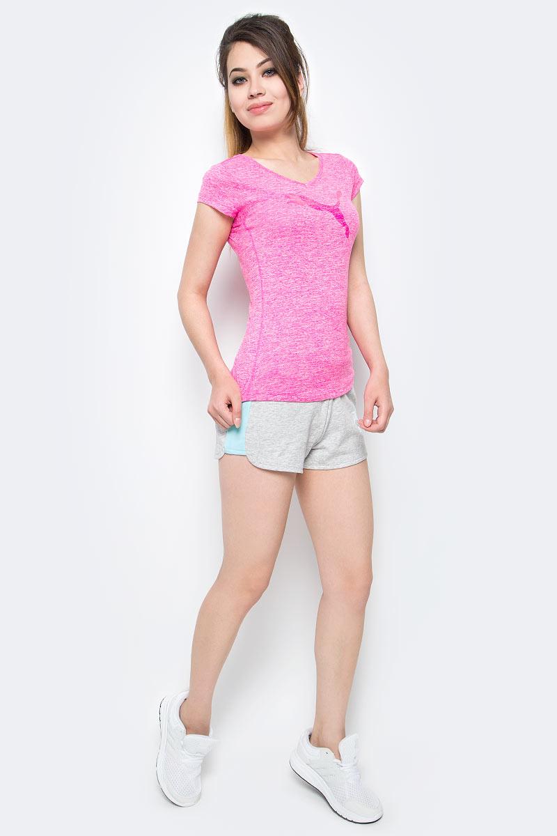 Шорты женские Puma Athletic Shorts W, цвет: серый. 59075604. Размер XS (40/42)59075604Женские спортивные шорты ATHLETIC Shorts W идеально подходят для тренировок и прогулок на свежем воздухе. Удобный крой шорт подарит полную свободу движений, а эластичный пояс с кулиской гарантирует удобную посадку по фигуре. На задней части изделия имеется практичный карман. Изделие имеет стандартную посадку.