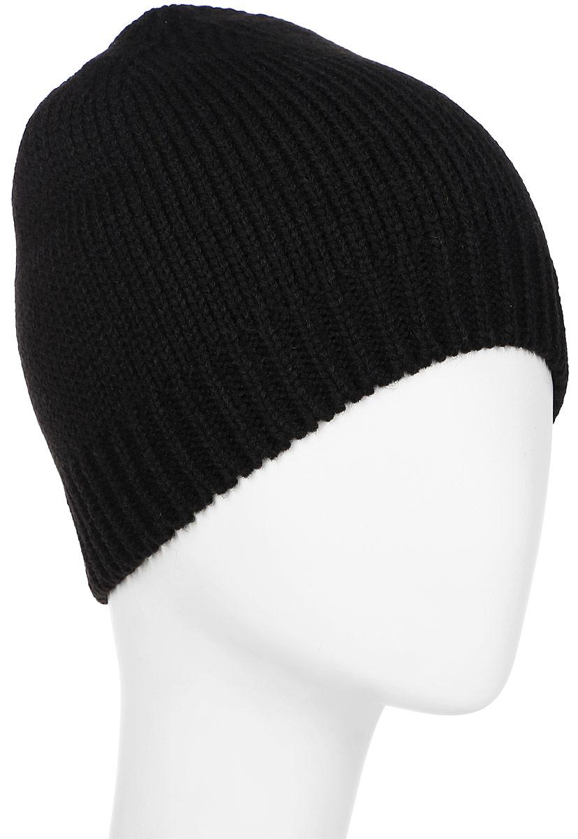 Шапка 2K Sport Agio, цвет: черный. 124031. Размер 58/60124031_blackСтильная вязаная шапка 2K Sport Agio выполнена из акрила и шерсти.Шапка оформлена фирменной нашивкой. Низ модели связан резинкой.Уважаемые клиенты!Размер, доступный для заказа, является обхватом головы.