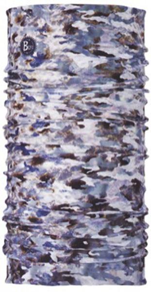Бандана Buff Camu Fish Grey, цвет: серый. 18101. Размер универсальный18101Buff - это оригинальные, мультифункциональные, бесшовные головные уборы - удобные и комфортные для любого вида активного отдыха и спорта. Оригинальные, потому что Buff был и является первым в мире брендом мультифункциональных, бесшовных и универсальных головных уборов. Мультифункциональные, потому что их можно носить самыми разными способами: как шарф, как шапку, как балаклаву, косынку, бандану, маску, напульсник и многими другими - решает ваша фантазия! Универсальный головной убор, который можно носить более чем двенадцатью способами, который можно использовать при занятии любым видом спорта, езде на велосипеде и мотоцикле, катаясь или бегая на лыжах, и даже как аксессуар в городской одежде. Бесшовные, благодаря эластичности, позволяющей использовать эти головные уборы как угодно и не беспокоиться о том, что кожа может быть натерта или раздражена швами. Размер (обхват головы): 53-62 см.