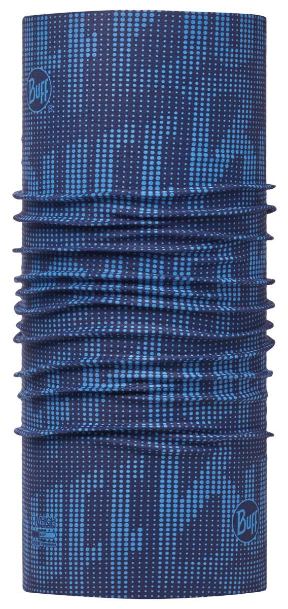 Бандана Buff High UV Deep Logo Dark Navy, цвет: синий. 113613.790.10.00. Размер универсальный113613.790.10.00Buff - это оригинальные, мультифункциональные, бесшовные головные уборы - удобные и комфортные для любого вида активного отдыха и спорта. Оригинальные, потому что Buff был и является первым в мире брендом мультифункциональных, бесшовных и универсальных головных уборов. Мультифункциональные, потому что их можно носить самыми разными способами: как шарф, как шапку, как балаклаву, косынку, бандану, маску, напульсник и многими другими - решает Ваша фантазия! Универсальный головной убор, который можно носить более чем двенадцатью способами, который можно использовать при занятии любым видом спорта, езде на велосипеде и мотоцикле, катаясь или бегая на лыжах, и даже как аксессуар в городской одежде. Бесшовные, благодаря эластичности, позволяющей использовать эти головные уборы как угодно и не беспокоиться о том, что кожа может быть натерта или раздражена швами.