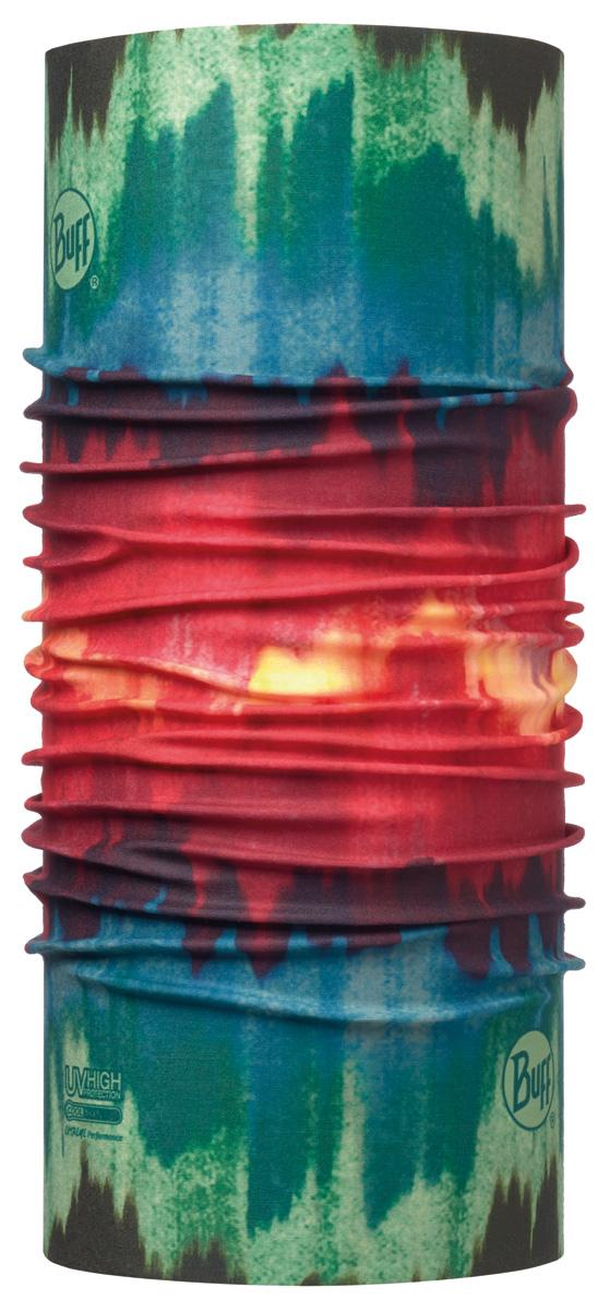 Бандана Buff High UV Kilari Multi, цвет: красный. 113621.555.10.00. Размер универсальный113621.555.10.00Buff - это оригинальные, мультифункциональные, бесшовные головные уборы - удобные и комфортные для любого вида активного отдыха и спорта. Оригинальные, потому что Buff был и является первым в мире брендом мультифункциональных, бесшовных и универсальных головных уборов. Мультифункциональные, потому что их можно носить самыми разными способами: как шарф, как шапку, как балаклаву, косынку, бандану, маску, напульсник и многими другими - решает Ваша фантазия! Универсальный головной убор, который можно носить более чем двенадцатью способами, который можно использовать при занятии любым видом спорта, езде на велосипеде и мотоцикле, катаясь или бегая на лыжах, и даже как аксессуар в городской одежде. Бесшовные, благодаря эластичности, позволяющей использовать эти головные уборы как угодно и не беспокоиться о том, что кожа может быть натерта или раздражена швами.